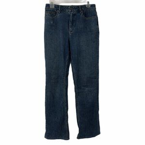 Coldwater Creek Womens Straight Denim Jeans Size 8